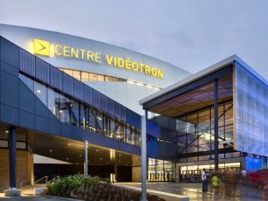 Photo : Le Centre Vidéotron