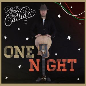 Pochette de l'album One Night de Marco Calliari