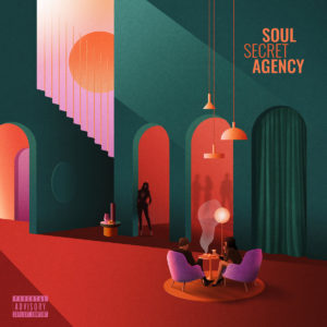 Pochette album Soul Secret Agency - Soul Secret Agency